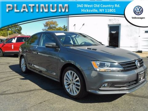 Pre-Owned 2015 Volkswagen Jetta FWD 4D Sedan