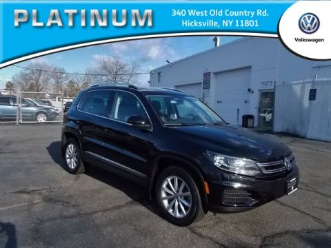 Pre-Owned 2017 Volkswagen Tiguan Wolfsburg AWD 4D Sport Utility 4Motion